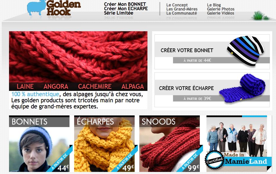 c858fbdf72ea Se faire tricoter une écharpe sur mesure par une mamie virtuelle ...